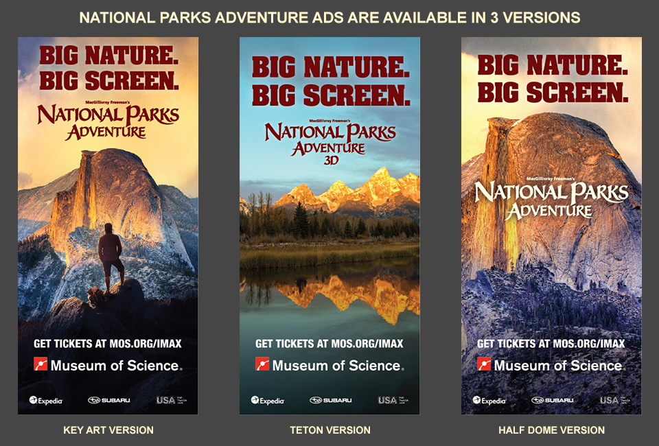 National Parks Adventure - Marketing Tools